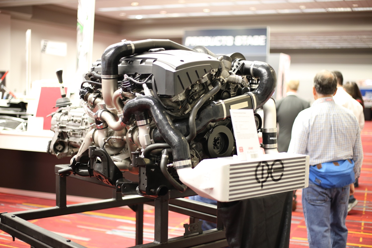 From All Of The Covering On The Lines To The Custom Cast Pieces The Cp E Atmosphere Turbo Kit Is