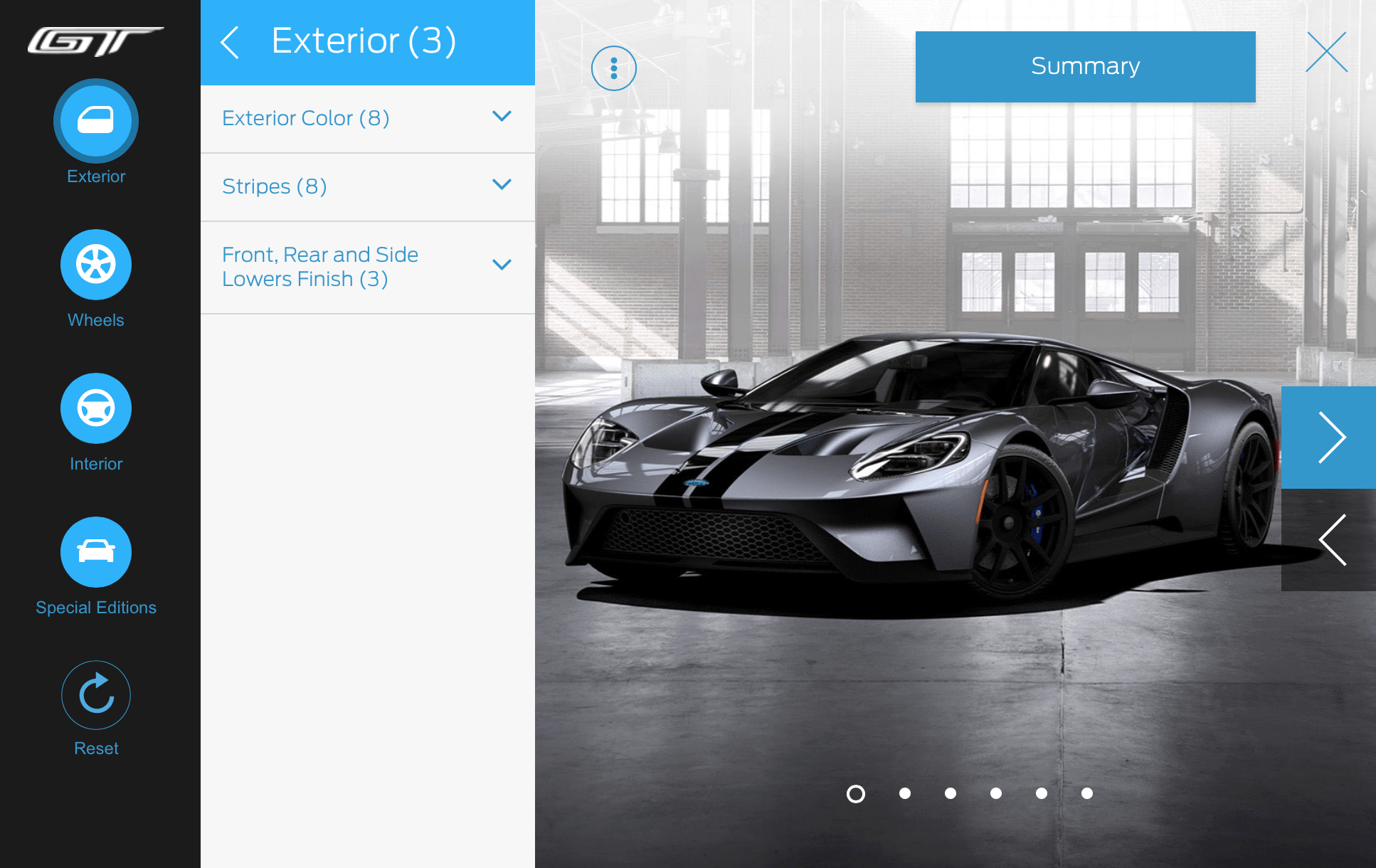 Ford Gt Configurator Released